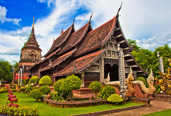 Doi-Suthep Temple Chiang Mai Thailand