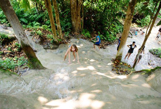 Sticky Waterfall Trip