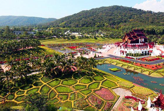 Thailand Royal Gardens
